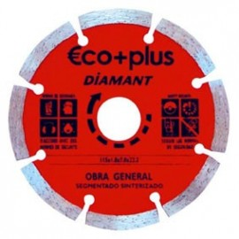 DISCO DIAMANTE SEGMENT.E+P 125X7 BLISTER