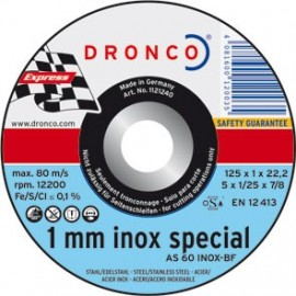 DISCO DRONCO AS60TINOX 125X1,0X22,2 C.ME