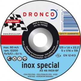 DISCO DRONCO AS46INOX 230X1,9X22,2 C.MET