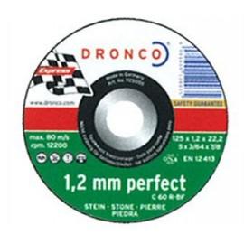 DISCO DRONCO C60R 125X1,2X22,2 C.PIEDRA