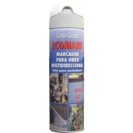 SPRAY MARCADOR ECOMARK BLANCO 500ML