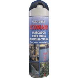 SPRAY MARCADOR ECOMARK NEGRO 500ML