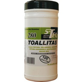 TOALLITAS LIMPIADORAS MULTIUSOS 280 100U