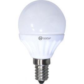 LAMPARA ESFERICA LED E14 7,5W 3000K