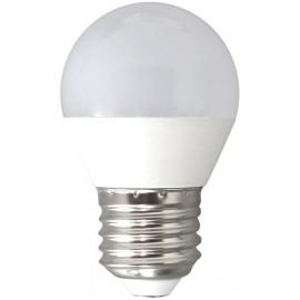 LAMPARA ESFERICA LED E27 6W 6000K