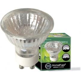 LAMPARA HALOGENA DICROICA GU10 50W 230V