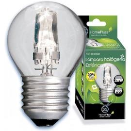 LAMPARA HALOGENA ESF.CLARA E27 28W(40W)