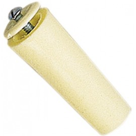 TOPE 60MM C/TORNILLO 06021001 MARFIL