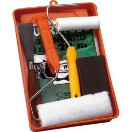 Kit 3594 Rod.fibra+Espuma+Espatula+Lija
