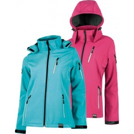 Chaqueta Workshell S9497 Fucsia T-M