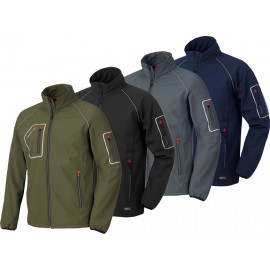 Cazadora Softshell Just Gris 4515N T-S