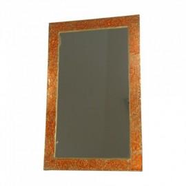 Espejo CRAKELADO dorado