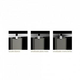 Kit de perfiles para Frontal de ducha NOVA LONGA blanco