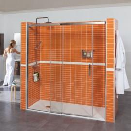 Mampara de ducha PASO transparente 120cm (116-120cm)