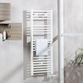 Radiador toallero 120x50cm blanco TOJAR