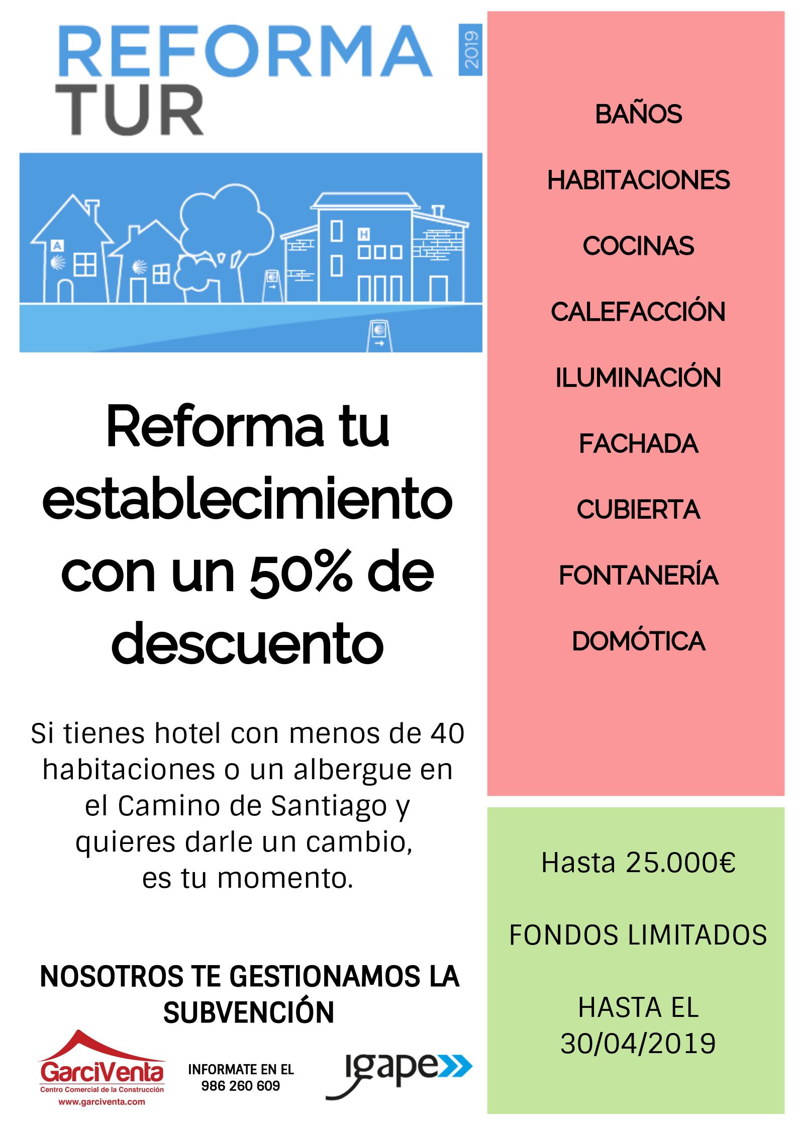 plan reforma tur 19, planreformatur19, igape, ayudas, subvenciones,