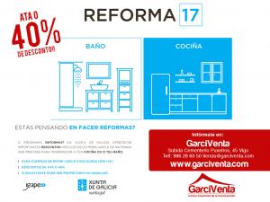 Ya puedes solicitar la ayuda del Plan #Reforma17 en GarciVenta. Descuentos de hasta el 40%!!