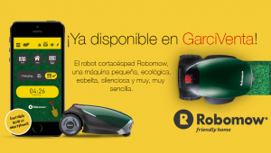 Nuevo robot cortacésped Robomow